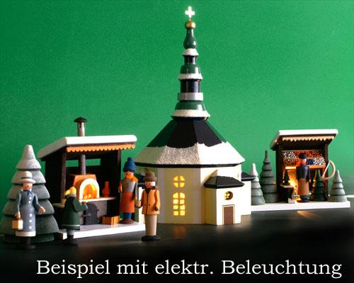 Seiffen Weihnachtshaus - Weihnachtsmarkt Grillstand 5 tgl. - Bild 3