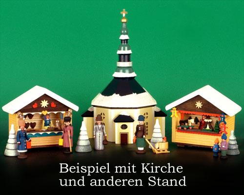 Seiffen Weihnachtshaus - Weihnachtsmarkt Bäckerstand 7 tgl. - Bild 2