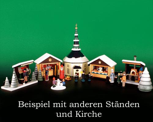 Seiffen Weihnachtshaus - Weihnachtsmarkt Grillstand 5 tgl. - Bild 2
