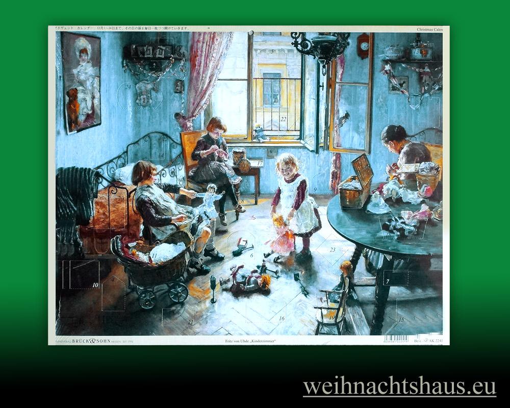 Adventskalender Adventskalender Nostalgie Kinderzimmer