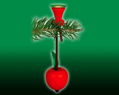 Weihnachtsbaum Kerzenhalter.Kerzenhalter Für Tannenbaum Apfel