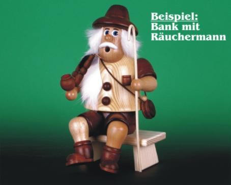 Seiffen Weihnachtshaus - Bank Kantenhocker oder Schwibbögen 4,5cm - Bild 2