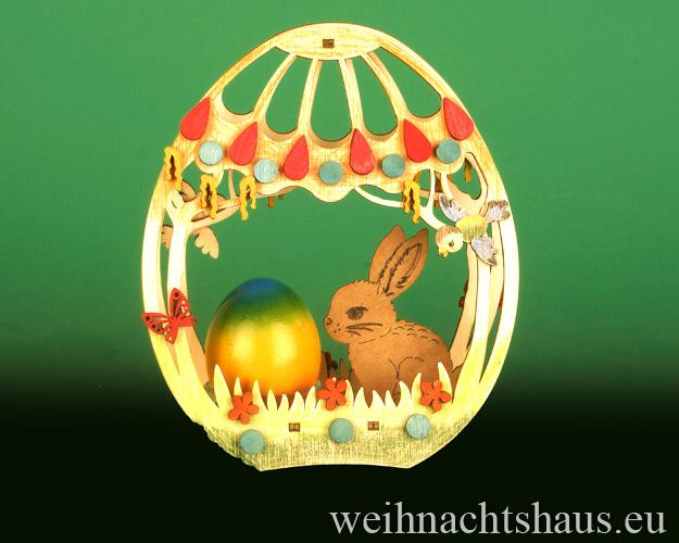 Seiffen Weihnachtshaus - Bastelsatz Erzgebirge Osterbasteln Osterei - Bild 2