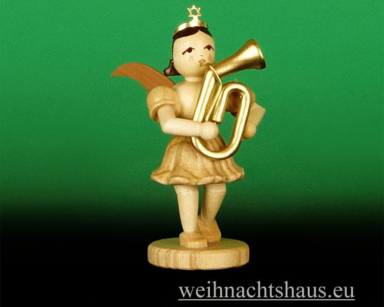 Seiffen Weihnachtshaus - Kurzrockengel natur  Tenorhorn Blank Neu 2013 - Bild 1