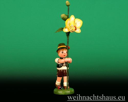 Seiffen Weihnachtshaus - Blumenjunge 11,5cm Orchidee - Bild 1