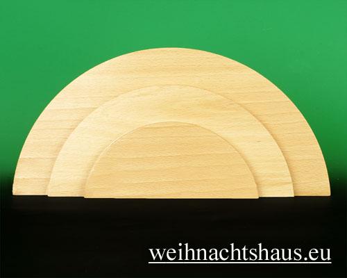 Seiffen Weihnachtshaus - Wolke natur 3-stufig - Bild 1