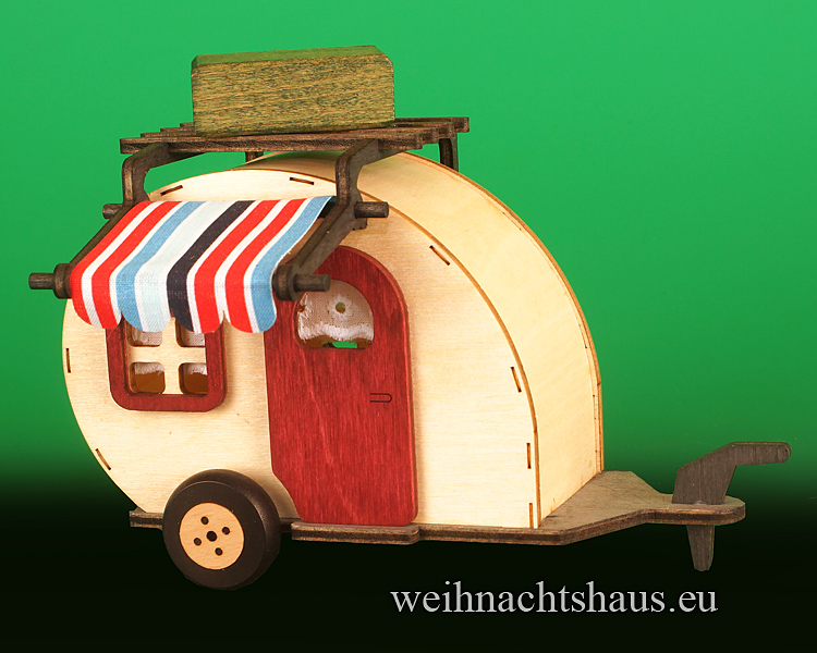Wohwagen Caming Eule aus Holz Neu 2021 Neuheit Campingwohnwagen für Eule - Holzwohnwagen