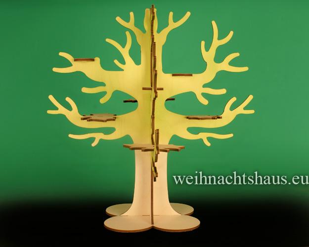 Seiffen Weihnachtshaus - Eulenbaum, Baum für Eulen - Bild 1