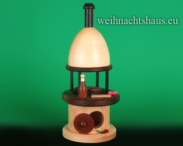 Seiffen Weihnachtshaus - <!--12-->Räucherofen Grillofen - Bild 1