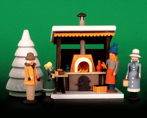 Seiffen Weihnachtshaus - Weihnachtsmarkt Grillstand 5 tgl. - Bild 1