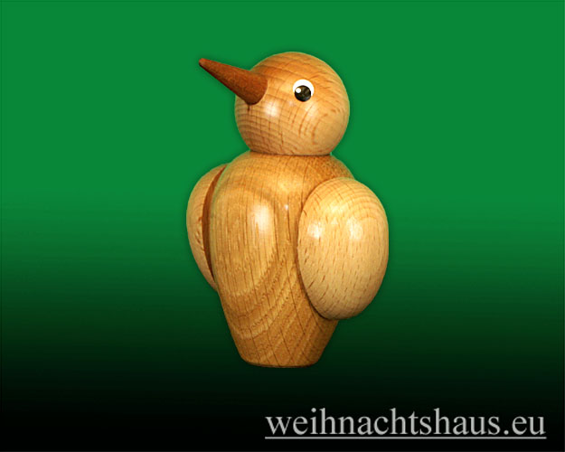 Seiffen Weihnachtshaus - Stimmungs-Vogel /Gute Laune Schlechte Laune - Bild 1