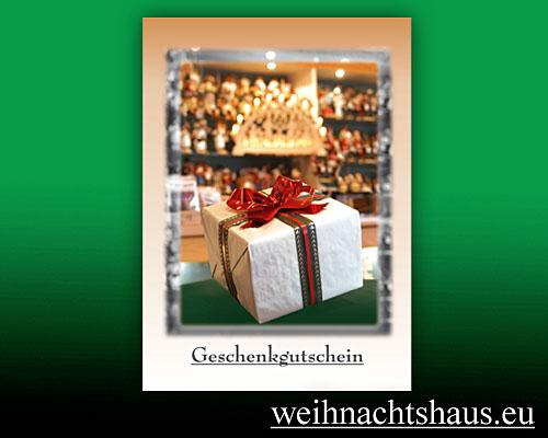 Seiffen Weihnachtshaus - Gutschein 40,00 € - Bild 1