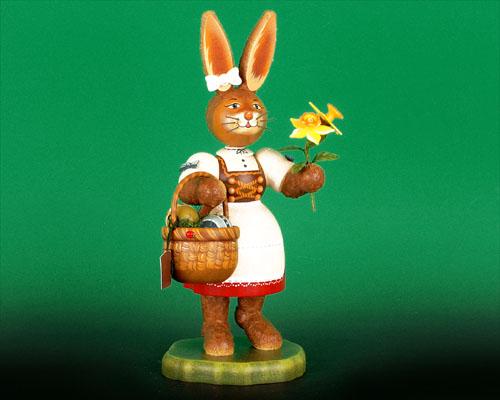 Seiffen Weihnachtshaus - Hubrig Hase Gretchen - Bild 1