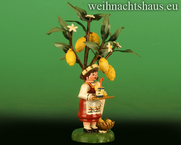 Seiffen Weihnachtshaus -  2020  Jahresfigur  Hubrig  Zitrone - Bild 2