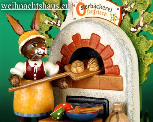 Seiffen Weihnachtshaus - Hubrig  Häschen Osterbäckerei/ NEU 2011 - Bild 2