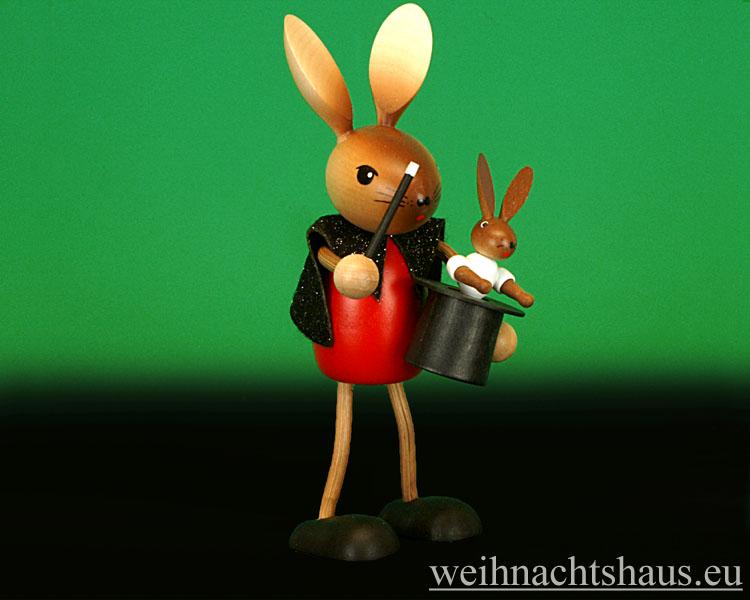 Seiffen Weihnachtshaus - .Krummbeinhase Kuhnert Zauberer NEU 2013 - Bild 1