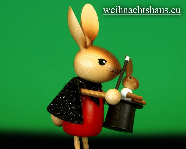 Seiffen Weihnachtshaus - .Krummbeinhase Kuhnert Zauberer NEU 2013 - Bild 2
