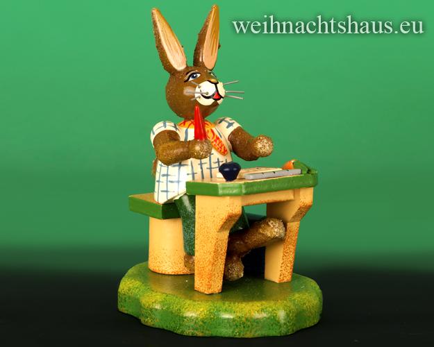 Seiffen Weihnachtshaus - Hubrig       Hasenschule Schüler schlauer Fritz/ NEU 2017 - Bild 1