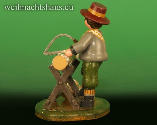 Seiffen Weihnachtshaus - Landidyll Figuren Kaminholz 2020 - Bild 2