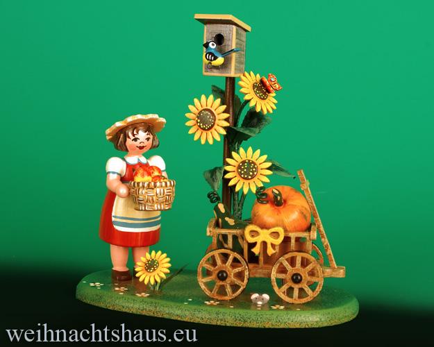 Seiffen Weihnachtshaus - Landidyll Figuren  Erntewagen NEU 2021 - Bild 1