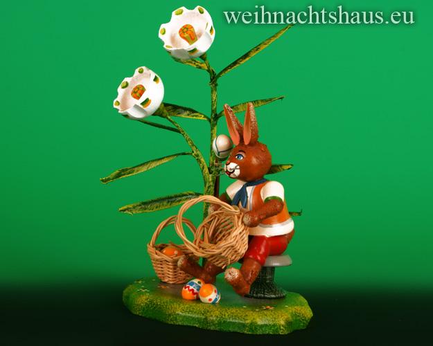 Seiffen Weihnachtshaus - Hubrig           Osterkörbchen NEU 2021 - Bild 2