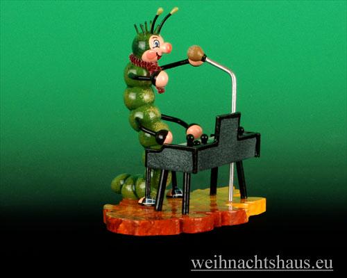 Seiffen Weihnachtshaus - Käfer Raupe Keyboard - Bild 1