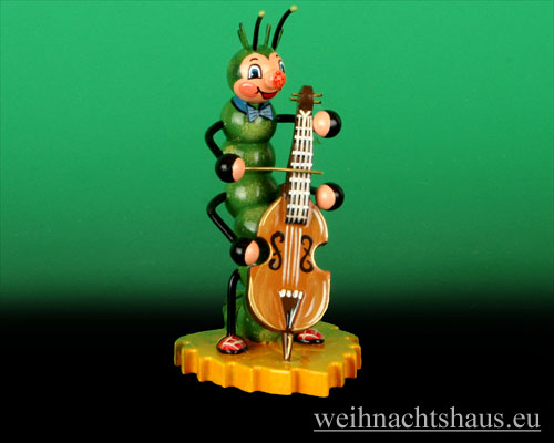 Seiffen Weihnachtshaus - Käfer Raupe Baß - Bild 1