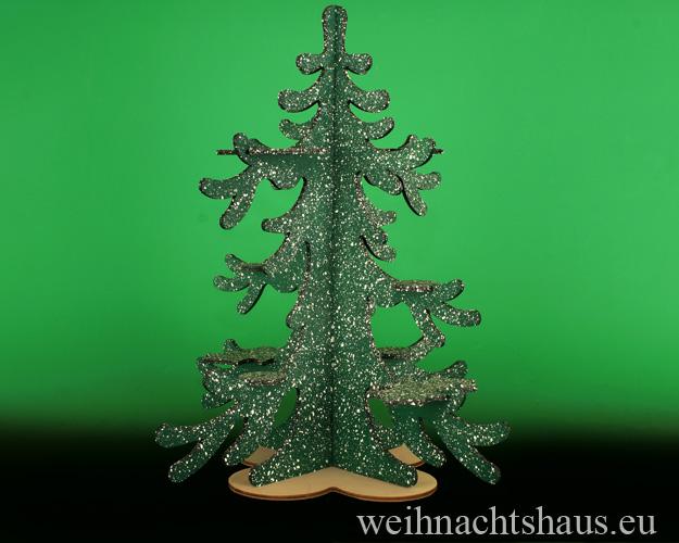 Seiffen Weihnachtshaus - Eulenbaum, Winter-Baum für Eulen - Bild 1