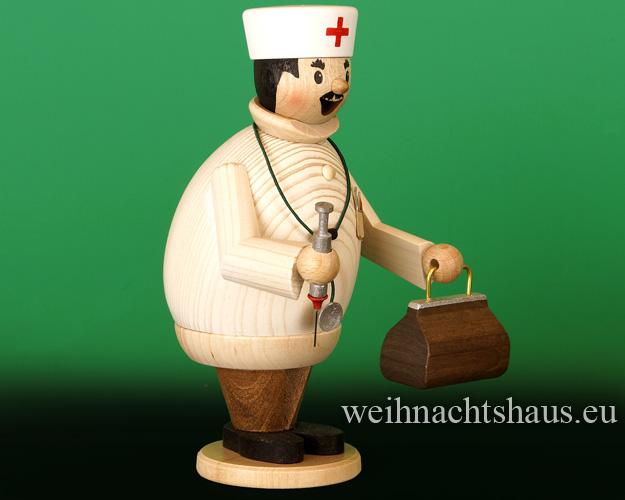 Seiffen Weihnachtshaus - <!--11-->Räuchermann Max  der Arzt - Bild 2