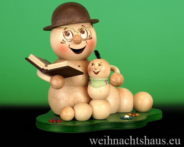 Opa mit Enkel Figur Kind Dekofiguren Opas Enkeln Dekofigur aus Holz Enkelkind Opafiguren Räuchermann Enkelkind Räucherwurm Erzgebrgisch