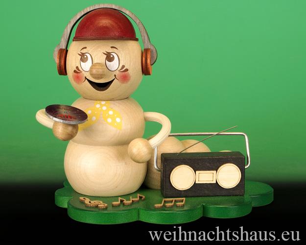Seiffen Weihnachtshaus - <!--11-->Räuchermann Räucherwurm Erzgebirge Ohrwurm - Bild 1