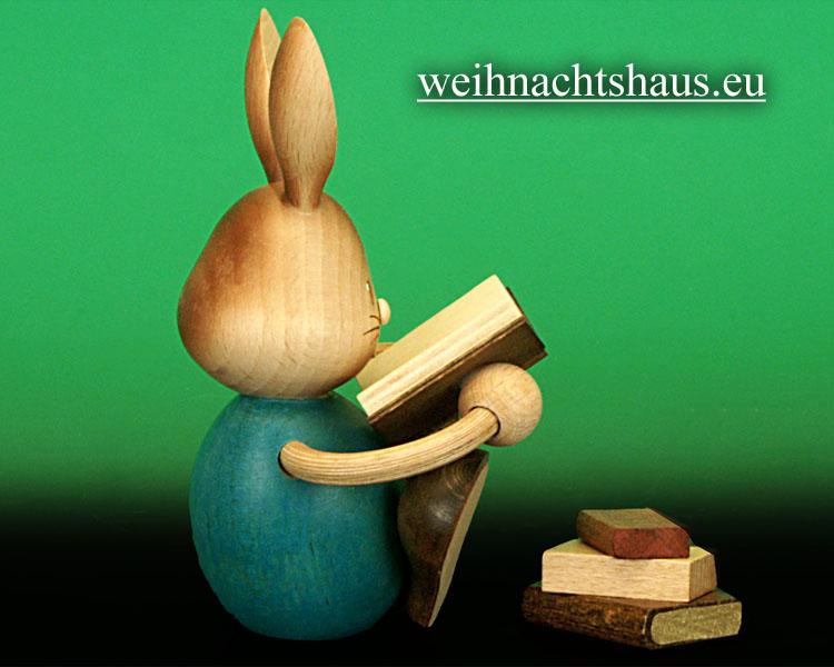Seiffen Weihnachtshaus - Stupsi mit Büchern - Bild 2