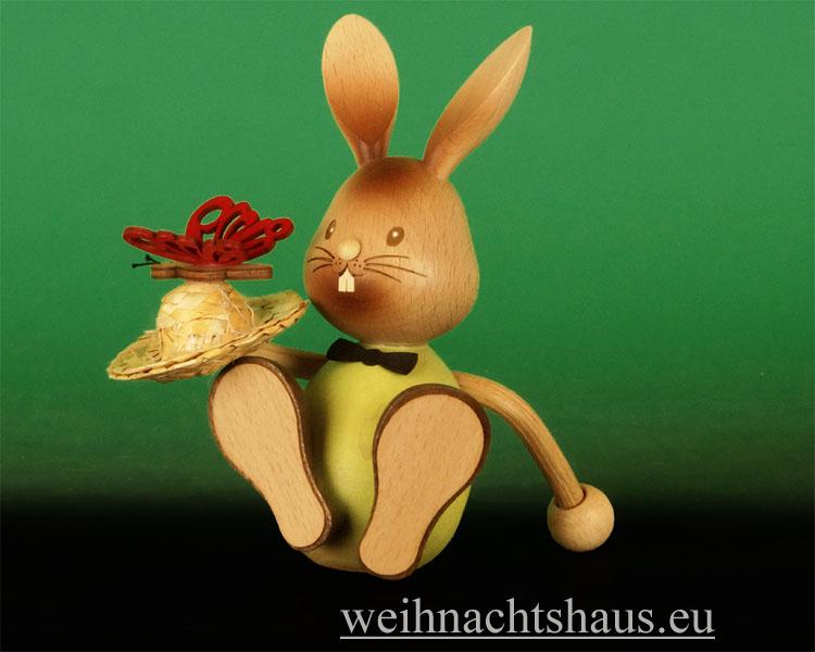 Seiffen Weihnachtshaus - Stupsi  mit Schmetterling Neu 2014 - Bild 1