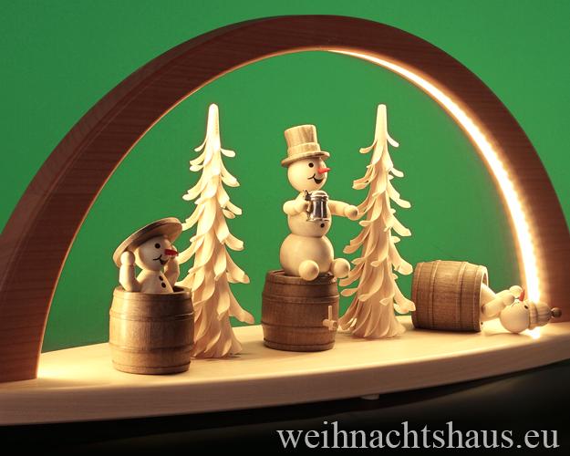 Schwibbogen modern LED Holz Moderne Schwibbögen Schneemännerbögen (LED Schwibbogen)