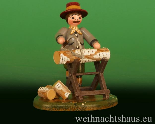 Seiffen Weihnachtshaus - Landidyll Figuren Kaminholz 2020 - Bild 1