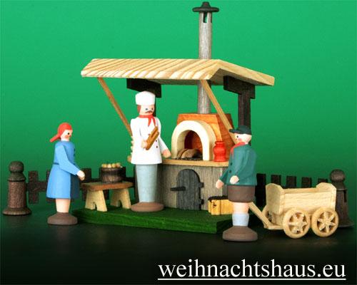 Seiffen Weihnachtshaus - Sommermarkt Grillstand 6 tlg - Bild 2
