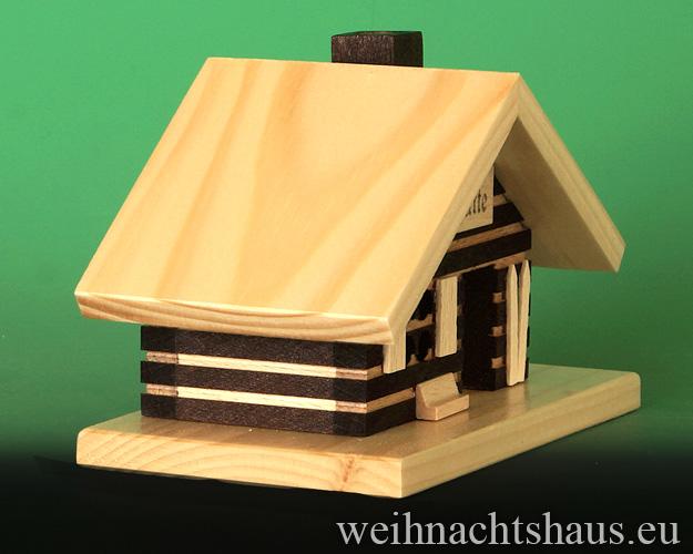 Seiffen Weihnachtshaus - <!--18-->Räucherhaus Skihütte - Bild 2
