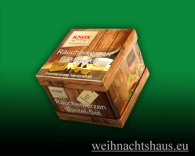 Seiffen Weihnachtshaus - Bastelsatz Erzgebirge Räucherkerzen selbst Herstellen - Bild 1