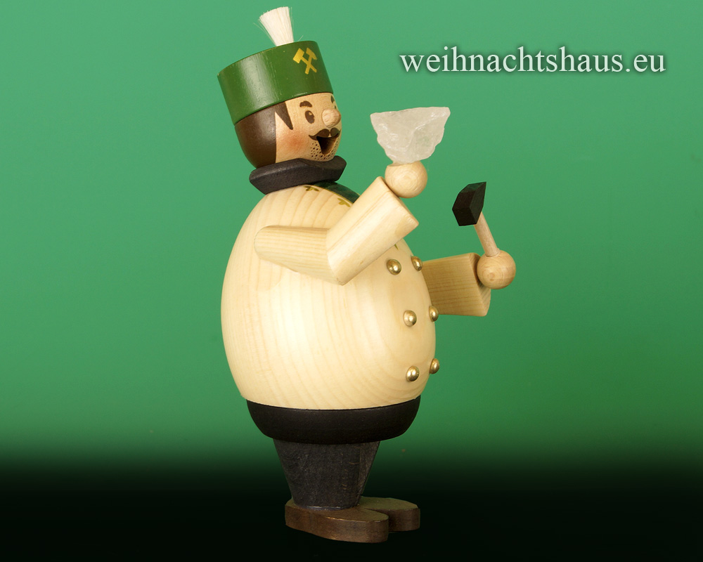 Seiffen Weihnachtshaus - <!--11-->Räuchermann Max  Bergmann - Bild 2