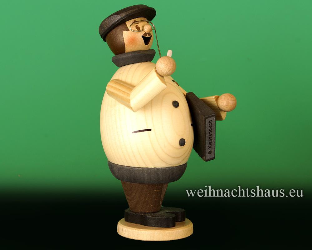 Seiffen Weihnachtshaus - <!--11-->Räuchermann Max  Lehrer - Bild 2