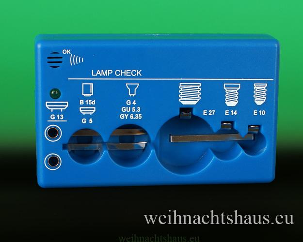 Seiffen Weihnachtshaus -  Testgerät für Schwibbogenkerzen - Bild 2