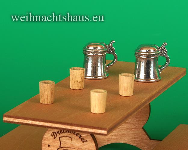 Seiffen Weihnachtshaus - .       Kugelschneemann Trinkbecher Set  Neuheit 2021 - Bild 1