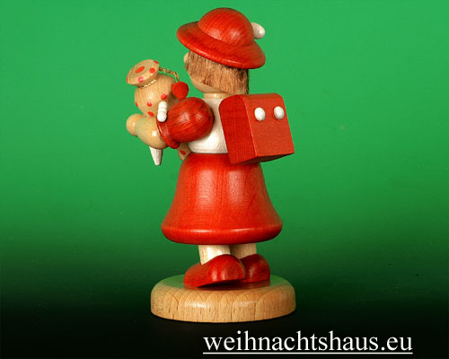 Seiffen Weihnachtshaus - Schulkind großes Mädchen - Bild 2