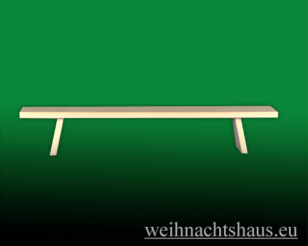 Seiffen Weihnachtshaus - Bank für  Schwibbogen 60 cm/ breite Ausführung - Bild 1