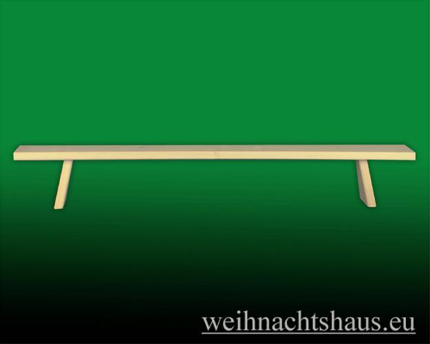 Seiffen Weihnachtshaus - Schwibbogenerhöhung, Erhöhung  für Schwibbogen 70 cm - Bild 1