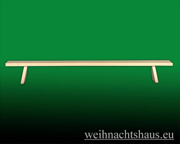Seiffen Weihnachtshaus - Schwibbogenerhöhung Schwibbogenbank (Erhöhung) 80 cm - Bild 1