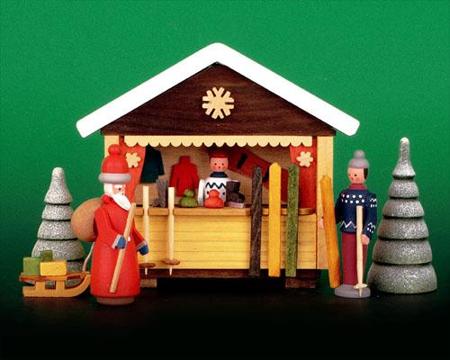 Seiffen Weihnachtshaus - Weihnachtsmarkt Skistand 6 tgl. - Bild 1