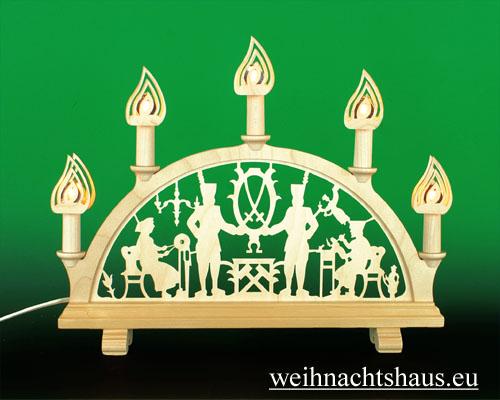 Seiffen Weihnachtshaus - Steckstern Flamme - Bild 2