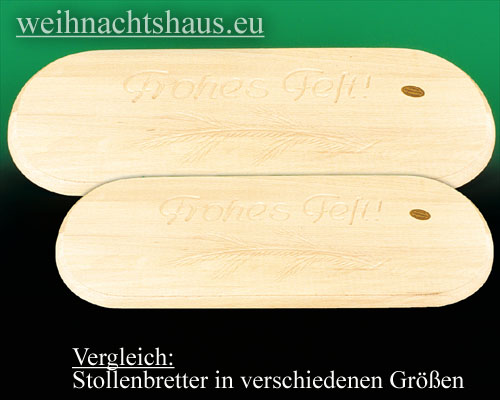 Stollenbrett Erzgebirge Stollen-bretter aus Holz
