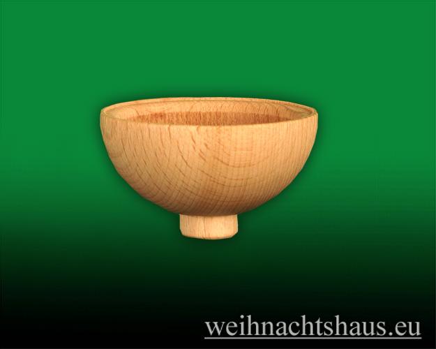 Seiffen Weihnachtshaus -  Teelichtadapter,Teelichtaufsatz runde Ausführung - Bild 1